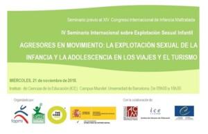 IV Seminario Internacional sobre Explotación Sexual Infantil