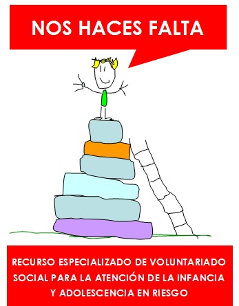 Voluntariado Fapmi.  Programa Nos haces falta